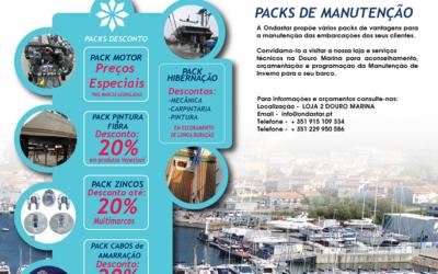 2018 / 2019 Boat Care – Pack's manutenção de Inverno