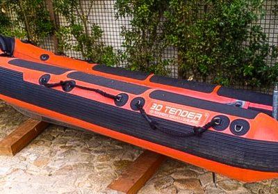 3D TENDER Rescue Boat 430 + TOHATSU 30 cv