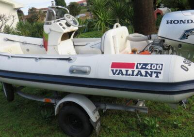 Valiant V400 + Honda 25 cv